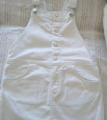 Traper bijela haljina