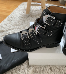 Givenchy buckle boots