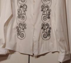 Bijela košulja s vezom