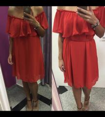 Crvena haljina - veličina univerzalna