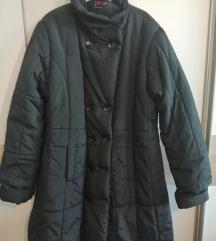 nova crna duga zimska jakna