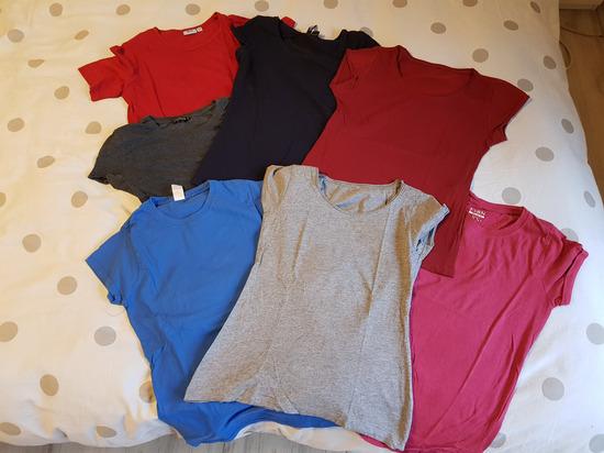 LOT 6 majici (plava prodana)