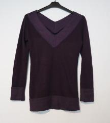 Poklanjam: ljubičasta vunena tunika pulover vel. S