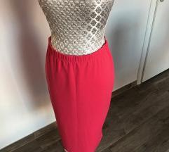 Pencil suknja roze boje