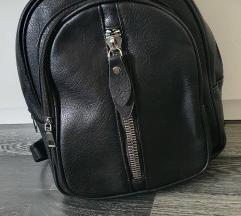 Novo ruksak od umjetne koze čvrst  srednja vel