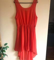 Narančasta ljetna haljina