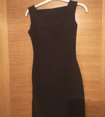 S.Dress uska crna mini haljina XS