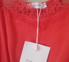 Piaza Italia koraljna crvena nova haljina