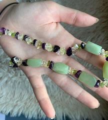 Ogrlica poludrago kamenje