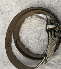 Pojas muški zmijskog uzorka