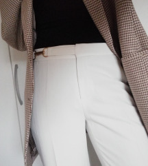 Bijele suit hlace vintage