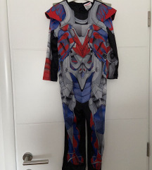 Transformers kostim za maškare, 5-6 godina