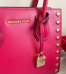 MICHAEL KORS mercer medium roza torba