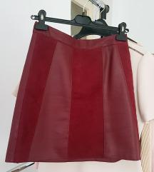 Orsay mini kožna suknja 36/38