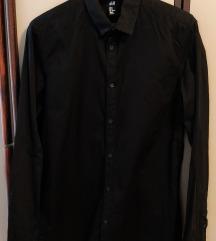 H&M crna muška košulja
