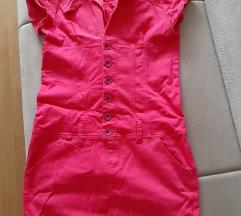 Pink traper haljina