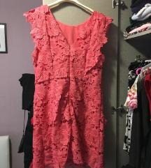 Asos Topshop nova haljina s 3D čipkom L 40