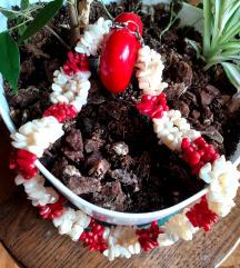 Ogrlica koralj/biser