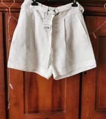 Mango lanene hlačice s etiketom