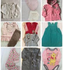 Odjeća djevojčice vel 56, 62