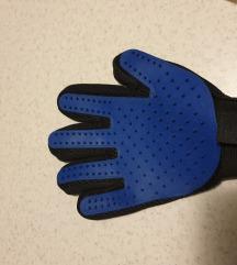 Silikonska rukavica za češljanje kućnih ljubimaca