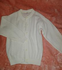C&a Bijeli pulover vesta