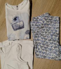 hm/idexe lot za curicu 86, tajice i majice