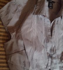 Nova H&M košulja na prugice vel.36