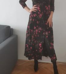 ZARA duga cvjetna haljina vel. M