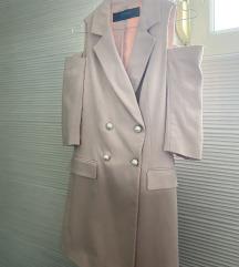 Zara haljina / sako M veličina