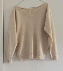 Mango pulover - ladja izrez