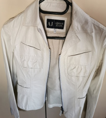 Armani jeans kožna jakna