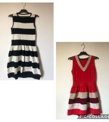 Dvije prugaste haljine