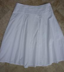 Bijela pamučna suknja, 42