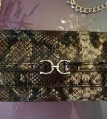 H&M zmijska torbica