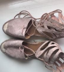 Roze espadrile