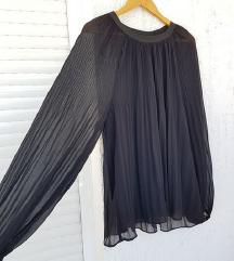 ZARA crna prugasta košulja / bluza