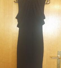 Crna uska haljina / veličina univerzalna