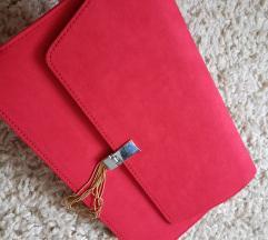 Asos crvena pismo torba%