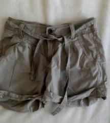 Kratke Safari hlače, Bež
