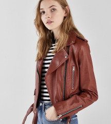 Bershka kozna biker jakna