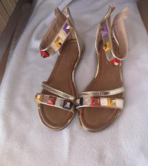 Sergio Todzi šarene sandale sa zakovicama