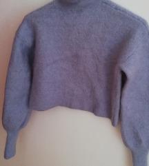 Zara crop pulover od kašmira NOVO