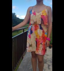Kratka šarena haljina