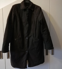 Crna duža jakna broj 44 - GELCO - CITTY LOOK