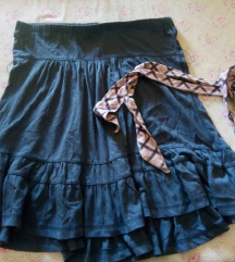 Plavi top/suknja