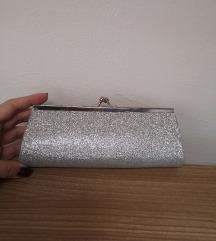 NOVA Asos srebrna torbica