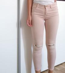 Roze STRADIVARIUS hlače