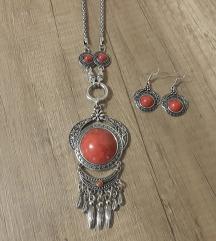Novo, ogrlica i naušnice