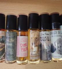 Parfemska ulja (roll on)